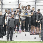 Wayne wins men's state indoor track title
