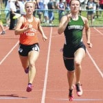 Evans places third at state meet