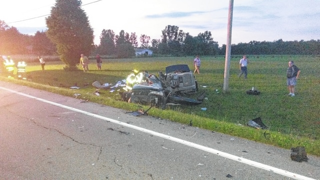 Champaign County sheriff deputies and emergency personnel responded to the area of East state Route 29 at South Dugan Road in Urbana Township for a two-vehicle injury crash Monday. Aerial R. Harris, the driver of a 2002 Honda Accord, was pronounced dead at the scene.