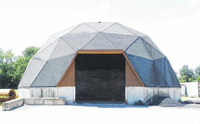 The city of Urbana's salt dome is at the Street Department facility at 416 Taft Ave. On Tuesday, city council approved the purchase of 400 tons of road salt, which will be delivered by Oct. 1.