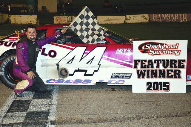 Josh Smith (pictured) was the late model winner at Shady Bowl Speedway last Saturday night.