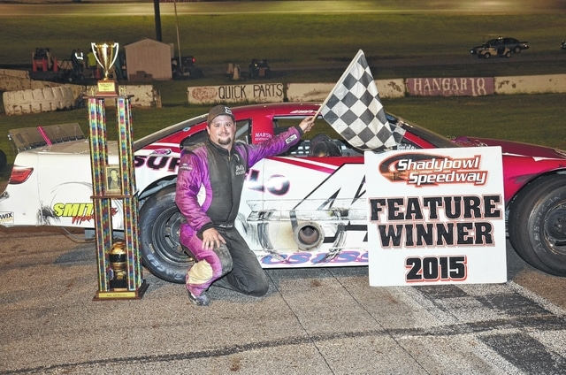 Quincy's Josh Smith (pictured) won the Shatto Memorial on Saturday at Shady Bowl Speedway on Saturday.