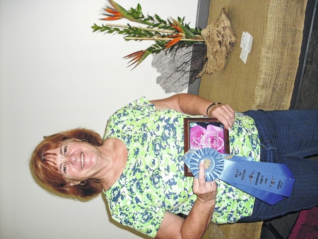 Deborah Graham, Best of Show, Artistic Design, Open Class Flower Show