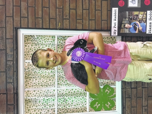 Eric Goddard, Outstanding of the Day, Jr. Div., state fair