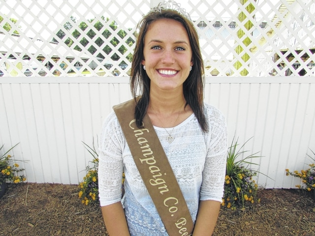 Kylie Detwiler, Champaign County Beef Queen