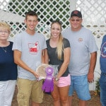 Top winners at the fair