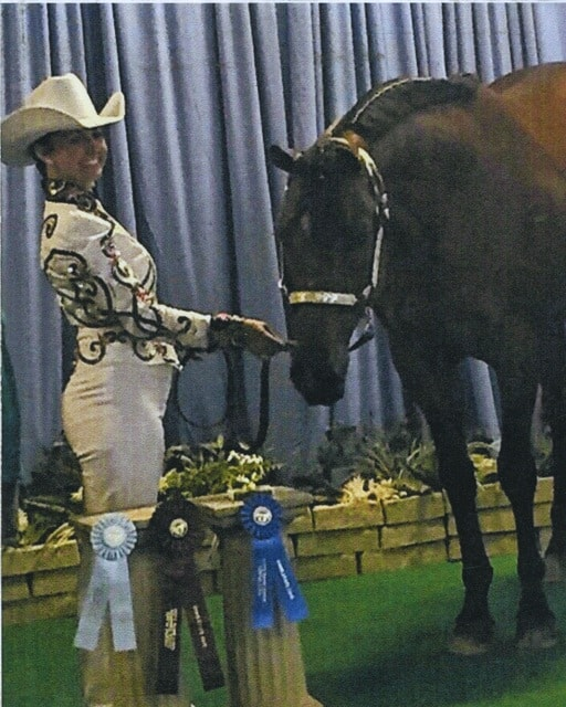 Allison Flora, state fair honors: first place, Western Showmanship; 10th place, Hunt Seat Showmanship; 8th place, Western Showmanship Championship Overall