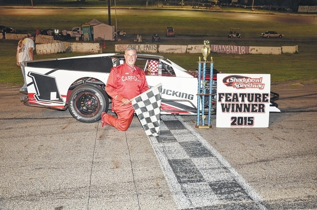 Mike Carroll (pictured) won the Isaacs Classic at Shady Bowl on Saturday.