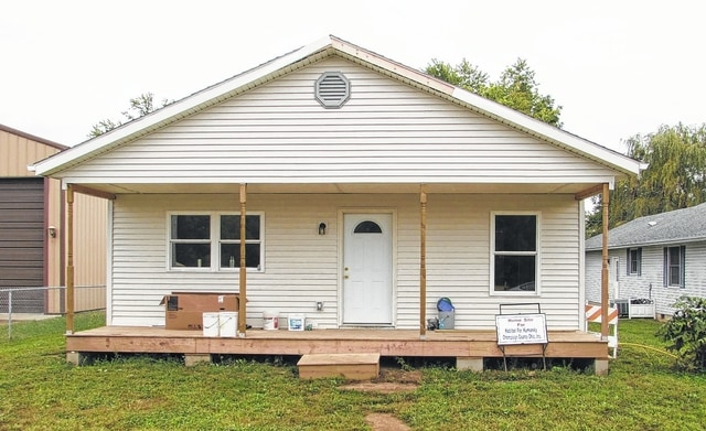 Habitat for Humanity of Champaign County Ohio is in the process of putting the finishing touches on its sixth home here in the county. The home, located at 247 W. Twain Ave. in Urbana, will be available for tour during a dedication ceremony set for 3 p.m. on Saturday.