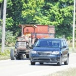 Drivers asked to use caution around farm equipment