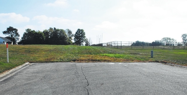 Urbana City Schools recently submitted to the city of Urbana a preliminary site plan for the construction of a pre-kindergarten through eighth-grade school building on district-owned property north of Community Drive near the Champaign YMCA. The plan calls for Community Drive and Boyce Street to both be extended to the property. Pictured is the current ending point of Boyce Street near the Urbana City Schools Athletic Complex.