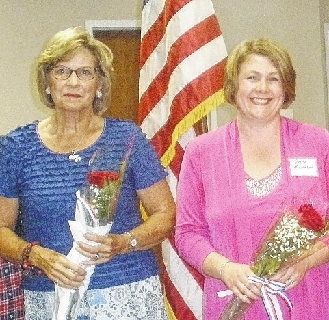 Dona Tullis and Teresa Matteson were installed as new Urbana chapter of the Daughters of the American Revolution members in September.