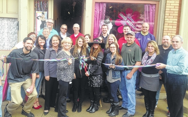 On Nov. 6, the Champaign County Chamber hosted two networking events in Urbana. November's First Friday Coffee Hour was 7:30-8:45 a.m. at the newest Cosmic Charlie Baking & Bread location, 116 Scioto St., with a ribbon-cutting at 9 a.m. to celebrate the opening. For more information on these or upcoming events, call 937-653-5764 or visit www.champaignohio.com. In the center of this photo is the owner of Cosmic Charlie Baking & Bread, Pam Bowshier, with Chamber Director Sandi Arnold and others attending the event.