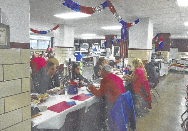 Urbana City Schools and Sodexo hosted a luncheon for veterans in all school buildings Nov. 12.