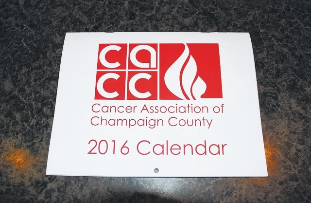 The Cancer Association of Champaign County's 2016 calendar is available for purchase, with all proceeds going to help those in the county battling cancer.