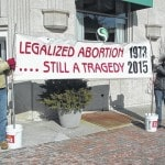 Right to Life supporters gather