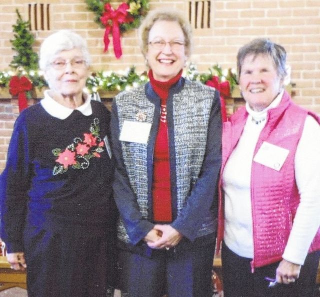 Champaign County Retired Teachers Association officers are, from left, Treasurer Phyllis Youtz, President Karen Headlee and Immediate Past President Pat Detwiler.
