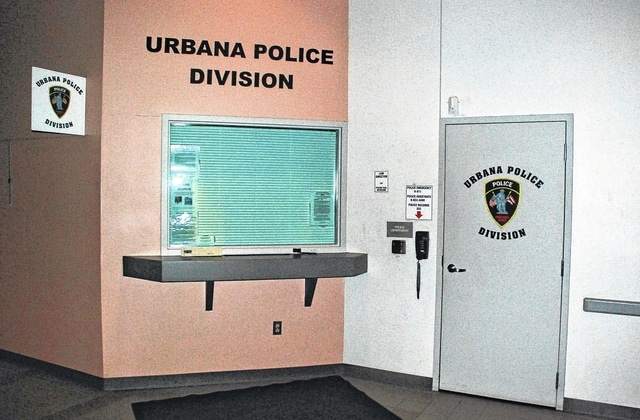 Pictured is the entrance to the Urbana Police Division office located inside the municipal building at 205 S. Main St. Urbana City Council on Tuesday heard the first reading of two ordinances involving new collective bargaining agreements between the city and the UPD's patrol offices and sergeants.