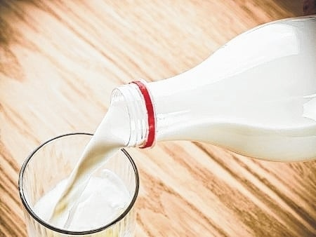 Unpasteurized milk can carry bacteria that cause disease.