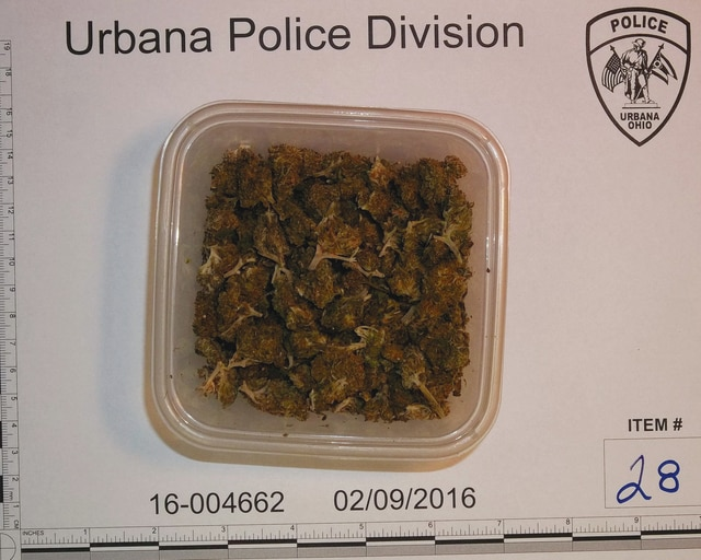 The Urbana Police Division recovered drugs, guns and cash after serving a search warrant at a local apartment this week. Four adults were detained during the raid and the case will be presented to an upcoming grand jury.