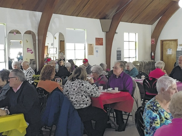 The Urbana Champaign County Senior Center, 701 S. Walnut St., hosted its Annual Palm Sunday Brunch on March 20. Diners enjoyed good food and conversation.