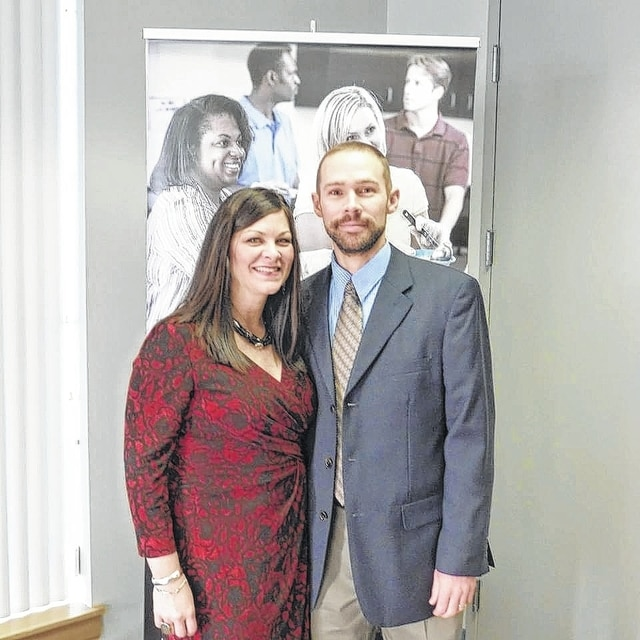 Amy and Andrew Donahoe led the 2015 Champaign County United Way campaign and helped exceed the goal.