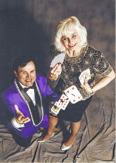 Hermann and Marcia Carr have been performing magic shows for correctional institutions and area schools for decades.