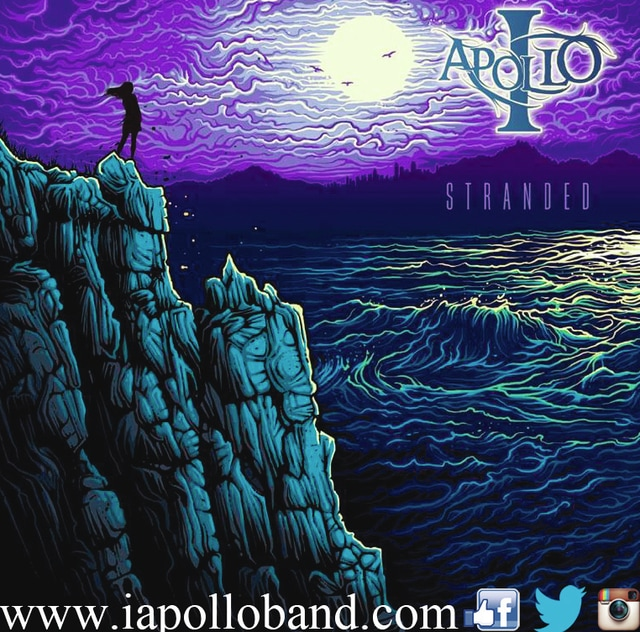 """The band I, Apollo released a six-song extended play titled """"Stranded"""" in March. The EP was recorded at Random Awesome! Studios in Bay City, Mich."""