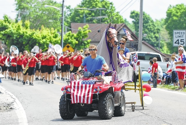The Terre Haute Memorial Day Parade, a long-running tradition, stepped off Sunday afternoon. The parade included classic cars, veterans' floats, the Graham band and various other community and family parade units. The speaker for the event was Champaign County Prosecutor Kevin Talebi.