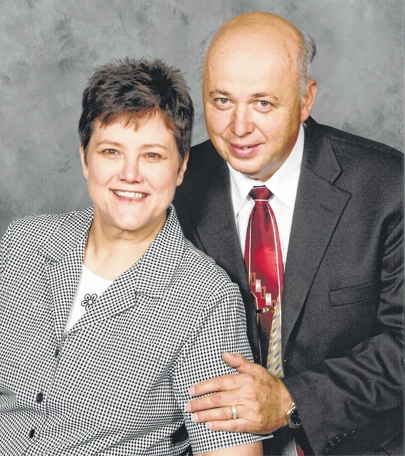 Mr. and Mrs. Jerry Arms