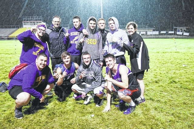 The Mechanicsburg boys track team is looking to build on its OHC title from last week with a strong showing in the Division III district preliminaries on Tuesday.