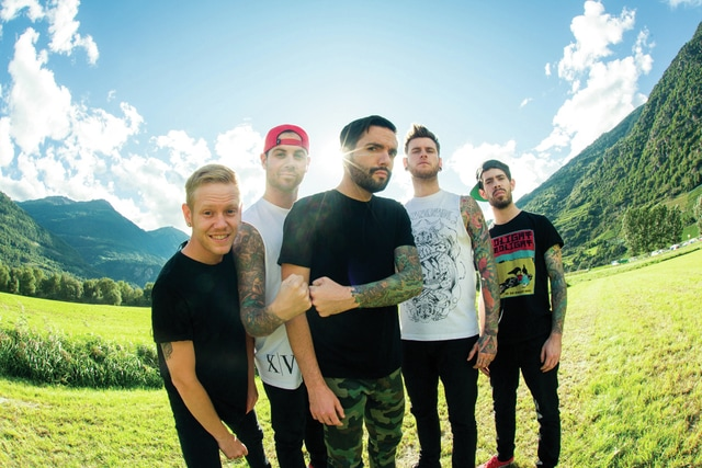 Paris Visone photo AP Awards Show headlining act A Day To Remember.