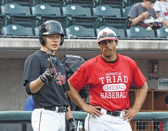Triad will have to replace both shortstop Trent McIntyre and head coach Will Nichols next season. Nichols is stepping down after 19 years at the helm for Triad.