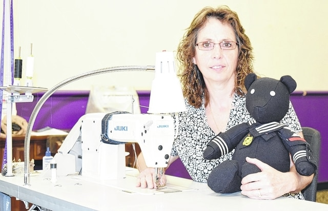Seamstress Catherine Loeloff opened Stitched with Care in Urbana earlier this year. She offers alterations, custom work, memory bears and sewing instruction.