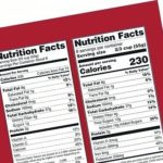 In 2018, food labels will give more information