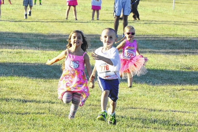 The second annual Young Life Memorial Run featured the Kiddie Rainbow Dash for children up to 8 years old.