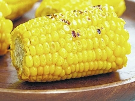 Corn is a good source of folate, beta carotene and thiamin along with other vitamins and minerals, and has more fiber than potatoes.
