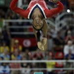 Biles' run at Olympic history ends with bronze on the beam