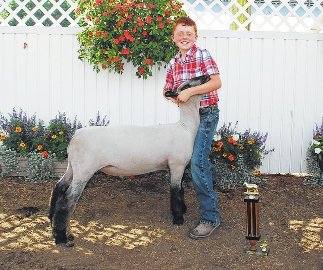 Garrett Wallen won Champion Pee Wee Showmanship.