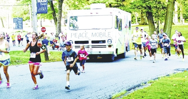 The Alicia Titus Memorial Peace Run 5K and 1 Mile Walk will be held at 9 a.m. Saturday, Sept. 10, at the Student Center at Urbana University.