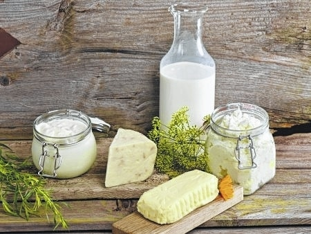 Different foods made from milk have different nutritional aspects. Some contain more calcium than others. Some contain more fat than others.