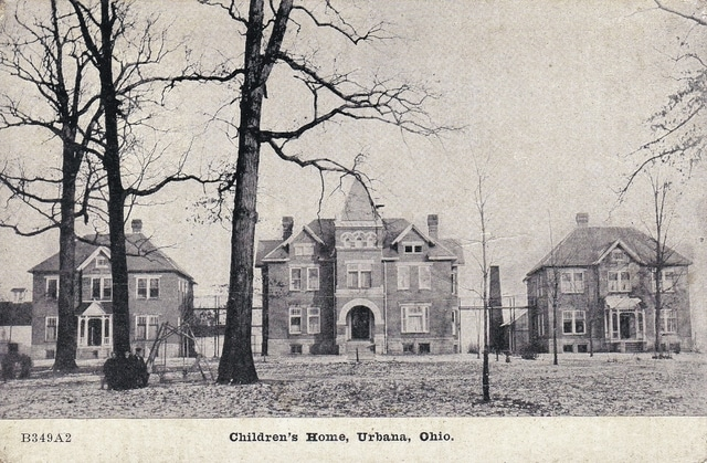The Champaign County Commission purchased land in 1891 to establish a children's home.