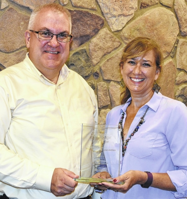 Mike Ray, Green Hills President/CEO, and Nita Wilkinson, Director of Advancement