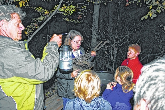 This picture is from a past Boo in the Bog. This year's non-scary event at Cedar Bog is set for Oct. 14 and 15.