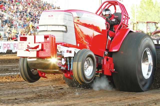 """Colin and Jody Ross of Waynesburg, Pa., with """"Triple Bypass"""" will be one of over 100 competitors competing at the 30th Annual Enderle Pull-Off."""