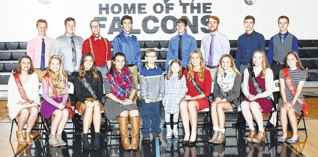 Here is the Graham 2016 Homecoming Court. This year's King and Queen will be crowned during pre-game events on Oct. 7 with a ceremony starting at 6:30​ p.m. The Homecoming dance is 8-11 p.m. Saturday, Oct. 8, at Graham Middle School. The court includes, front from left, Olivia Lawrence, Abbie Hennig, Sophie Lingrell, Alannah Miller, Lincoln Jacobs, Emilynn Cornette, Kayla Tullis, Haley Jumper, Katie Milligan, Rachel Kaiser, second row from left, Owen McGuffey, Gabe Wier, Nathen Zavada, Carter Callison, Ian Lokai, Roy McGill, Andrew Ford and Zachery Caudill.