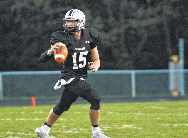Gage Braun (pictured) helped lead Graham over visiting Northwestern Friday night.
