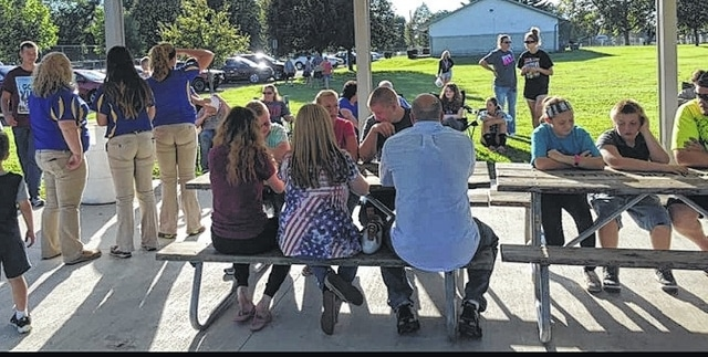 The Urbana FFA Chapter held a first-year greeting-cookout meeting at Melvin Miller Park on Sept. 13.