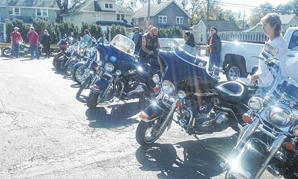 The 15th annual Bobby Trainer Day memorial ride will be Saturday, Oct. 8. This is a photo from last year's ride. Attendees meet at noon at Jimmy T's Saloon in Springfield and drive to Ferncliff Cemetery where Trainer is buried. The ride celebrates Trainer, but also others who have lost their lives in motorcycle crashes.
