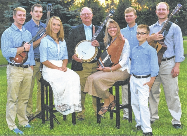 First Baptist Church, corner of North Main and East Ward streets in Urbana, will host The Lacey Family of Jamestown for a 6-7 p.m. concert on Sunday, Oct. 23. The family has been playing gospel bluegrass together since 2004. Tim and Sandy Lacey and their six children provide a lively concert, singing and playing five-string banjo, autoharp, guitar, acoustic bass, mandolin, Dobro and fiddle. The concert will be followed by a Homemade Ice Cream Social.
